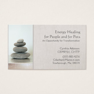 Stacked Zen Stones Holistic Health and Wellness