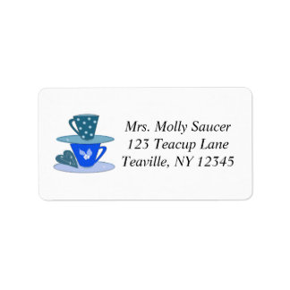 Stacking Teacups Label
