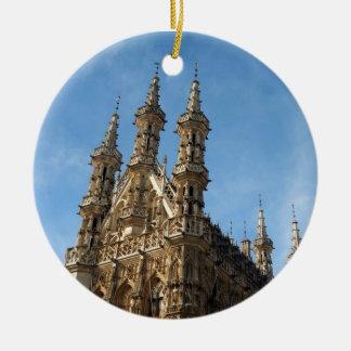 Stadhuis Leuven, Belgium Ceramic Ornament