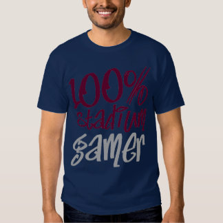 Stadium Gamer (Burgundy) T Shirts