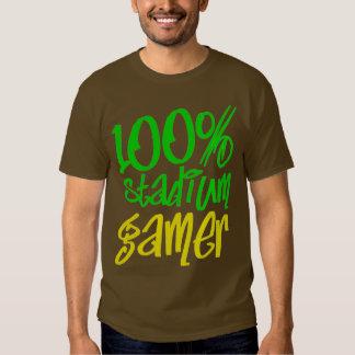 Stadium Gamer (Green Yellow) T Shirt