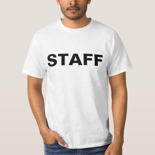 Staff event management employee t shirt zazzle for Event staff shirt ideas