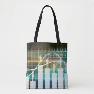 Staff Performance Appraisal with People Standing Tote Bag