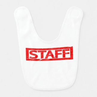 Staff Stamp Bib