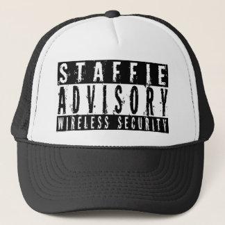 Staffie Advisory Wireless Security Trucker Hat