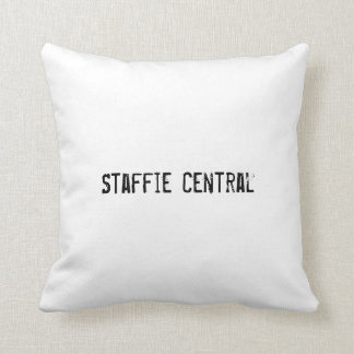 Staffie Central Polyester Cushion