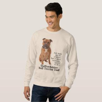 Staffie Dad Sweatshirt