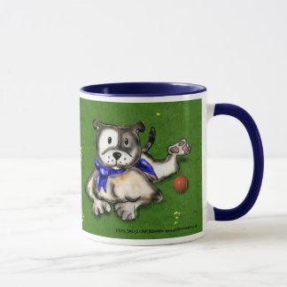 STAFFIE SMILES lying down mug