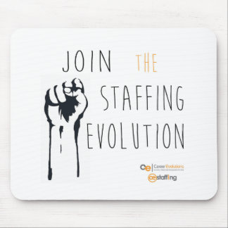Staffing Evolution Mousepad