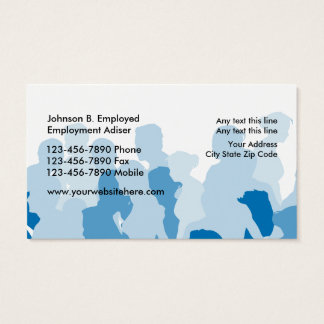 Staffing Service Business Cards