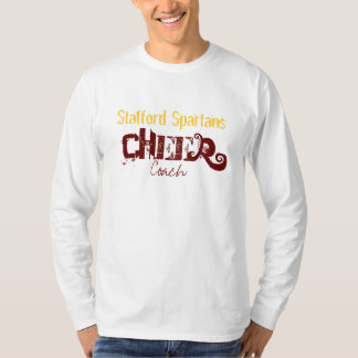 Stafford Spartans, Cheer , Coach T-Shirt
