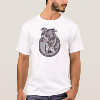 Staffordshire Bull Terrier 001 T-Shirt