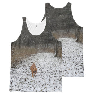 Staffordshire Bull Terrier All-Over Print Tank Top