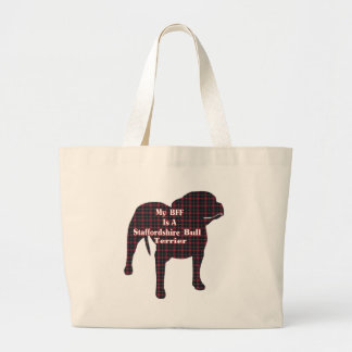 Staffordshire BULL Terrier BFF Tote Bag