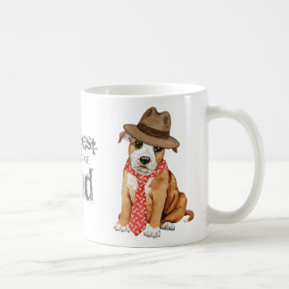 Staffordshire Bull Terrier Dad Coffee Mug