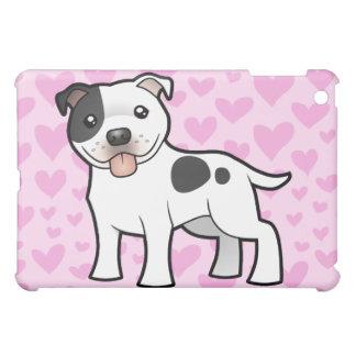 Staffordshire Bull Terrier Love (add your pern) iPad Mini Cover