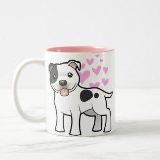 Staffordshire Bull Terrier Love Mugs
