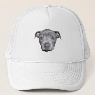 Staffordshire Bull Terrier Puppy Face, Trucker Hat