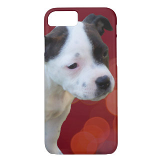 Staffordshire Bull Terrier Puppy, iPhone 8/7 Case