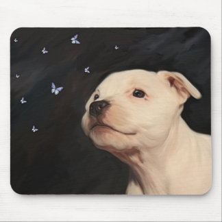 Staffordshire Bull Terrier Puppy Mouse Pad