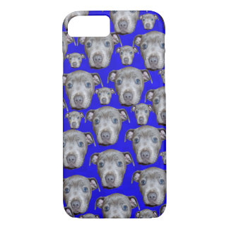 Staffordshire Bull Terrier Puppy Pattern, iPhone 8/7 Case
