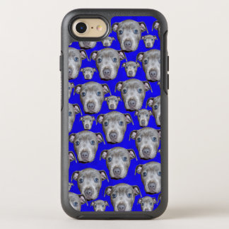 Staffordshire Bull Terrier Puppy Pattern, OtterBox Symmetry iPhone 8/7 Case
