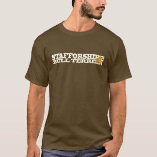 Staffordshire Bull Terrier - T-Shirt cream/orange