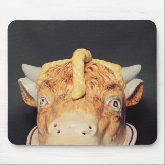 Staffordshire cheese dish in shape of a cow's mouse pad