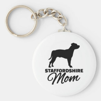 Staffordshire Mom Key Ring