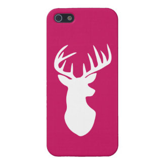 Stag Deer Head Silhouette iPhone 5 Cover