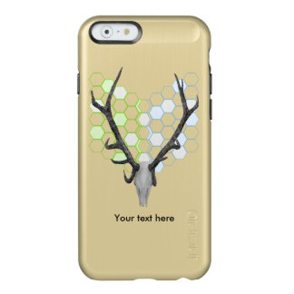 Stag Deer Trophy Antlers Geometric Pattern Incipio Feather® Shine iPhone 6 Case