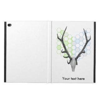 Stag Deer Trophy Antlers Geometric Pattern Powis iPad Air 2 Case