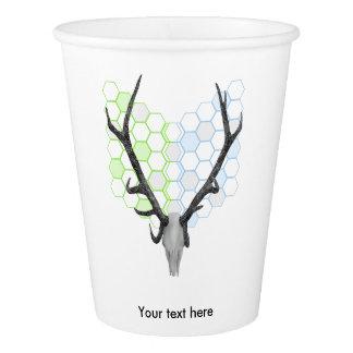 Stag Deer Trophy Antlers Paper Cup