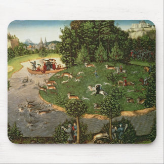 "Stag Hunt of Elector Friedrich III the ""Wise"" Mouse Pad"