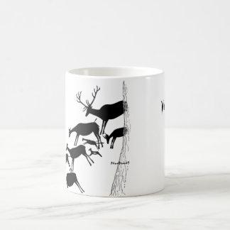 Stag Hunting in Valltorta Magic Mug