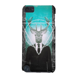 Stag in suit iPod touch (5th generation) case