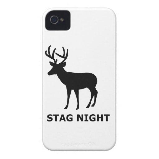Stag Night Case-Mate iPhone 4 Case
