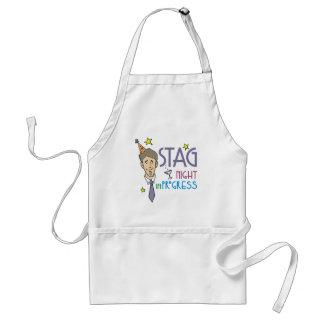 Stag Night Standard Apron