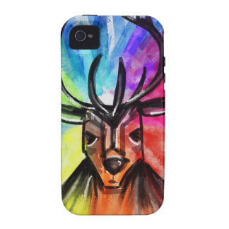 Stag Night Vibe iPhone 4 Cases
