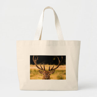 stag of richmond park large tote bag