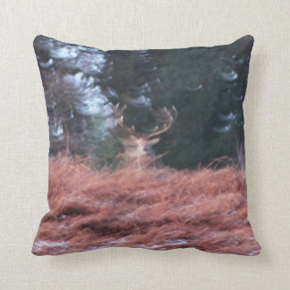 Stag on a hill cushion