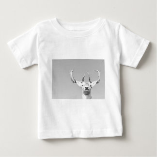 Stag prints stay Deer Baby T-Shirt