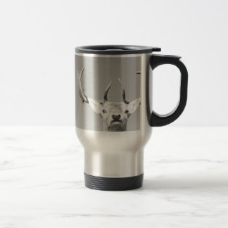 Stag prints stay Deer Travel Mug