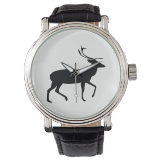 Stag Silhouette Watch