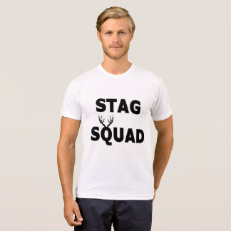 'Stag Squad' Poly-cotton Blend Tee