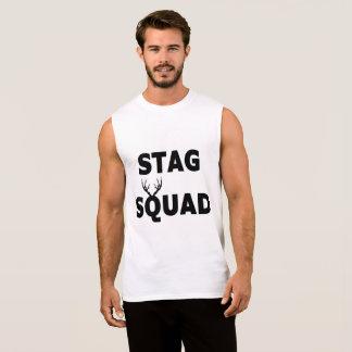 'Stag Squad' Sleeveless Tee
