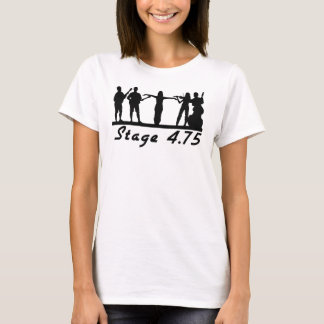 Stage 4.75 in Black T-Shirt