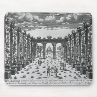 Stage by Giacomo Torelli  for 'Venere Gelosa' Mouse Pad