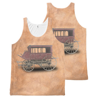 STAGE COACH All-Over PRINT TANK TOP