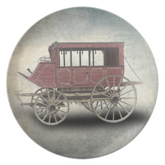 STAGE COACH DINNER PLATES